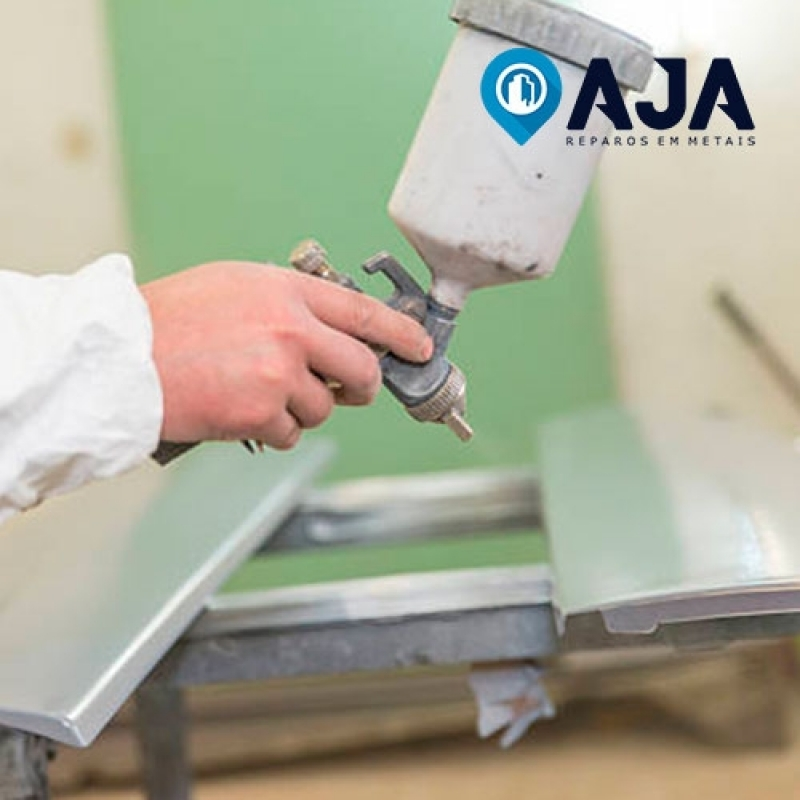 Empresa de Pintura Alumínio Brilhante Cabo Frio - Pintura em Alumínio Eletrostática