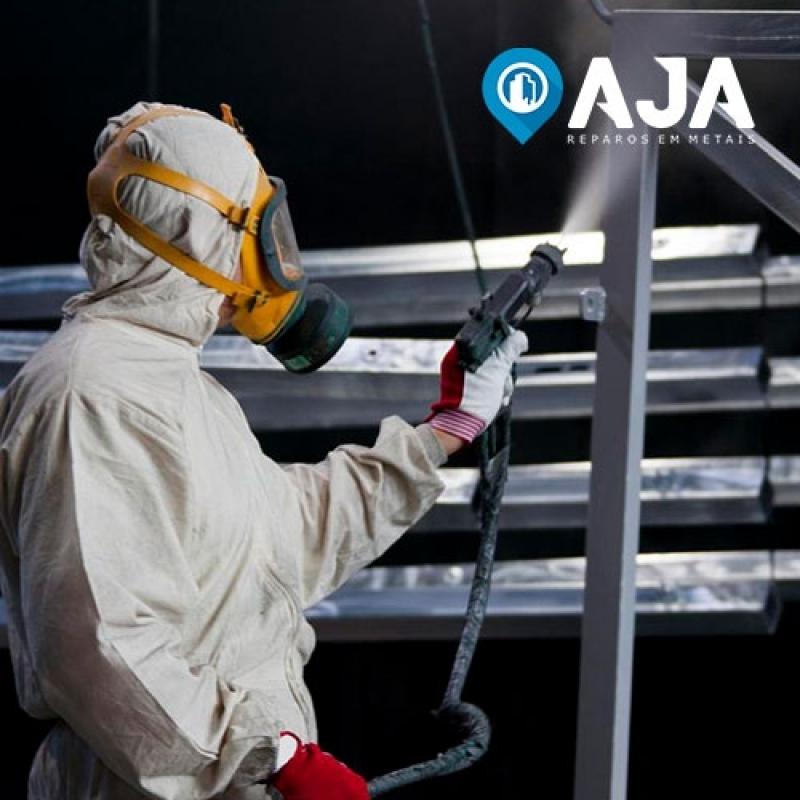 Empresa de Pintura Amadeirada em Alumínio Aricanduva - Pintura em Alumínio Eletrostática