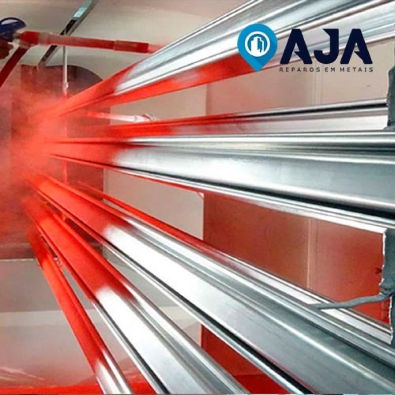 Empresa de Pintura em Alumínio com Spray Tucuruvi - Pintura em Alumínio Eletrostática