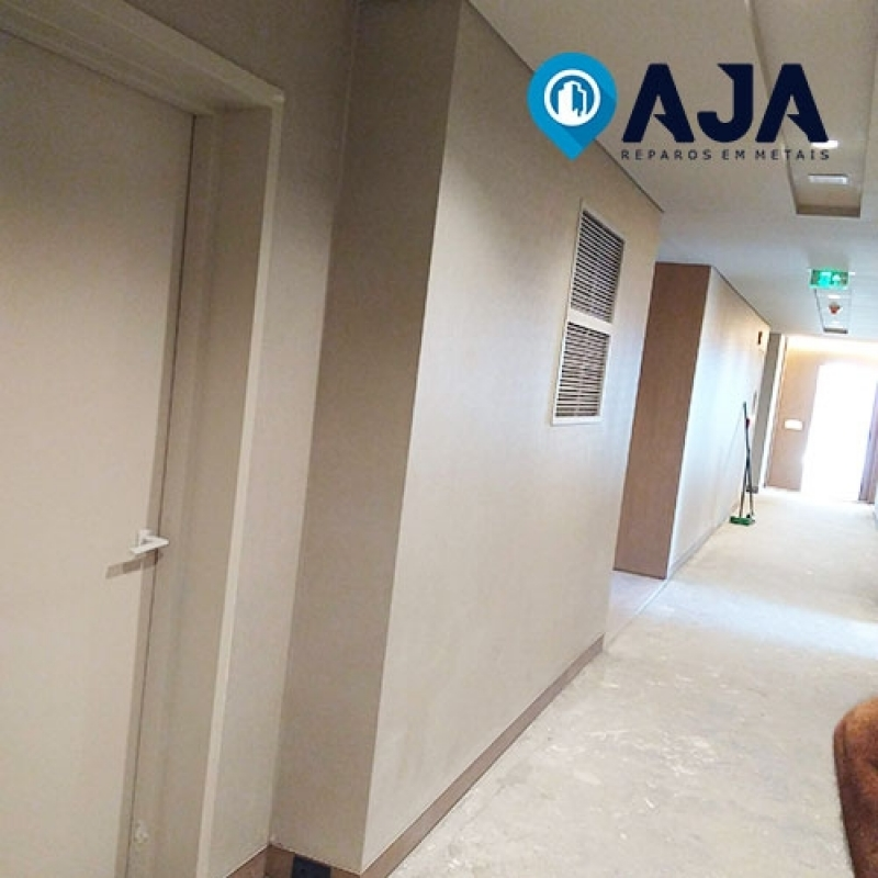 Empresa de Reparo de Porta Corta Fogo para Apartamento ARUJÁ - Reparo de Porta Corta Fogo e Acústica