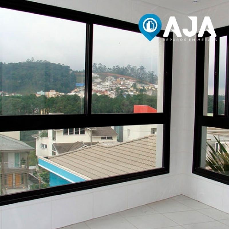 Manutenção Porta Alumínio Preço Vila Carrão - Manutenção Esquadrias de Alumínio
