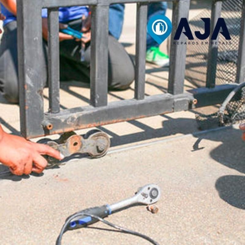 Manutenção Portão de Alumínio Valor Água Branca - Manutenção Esquadrias de Alumínio