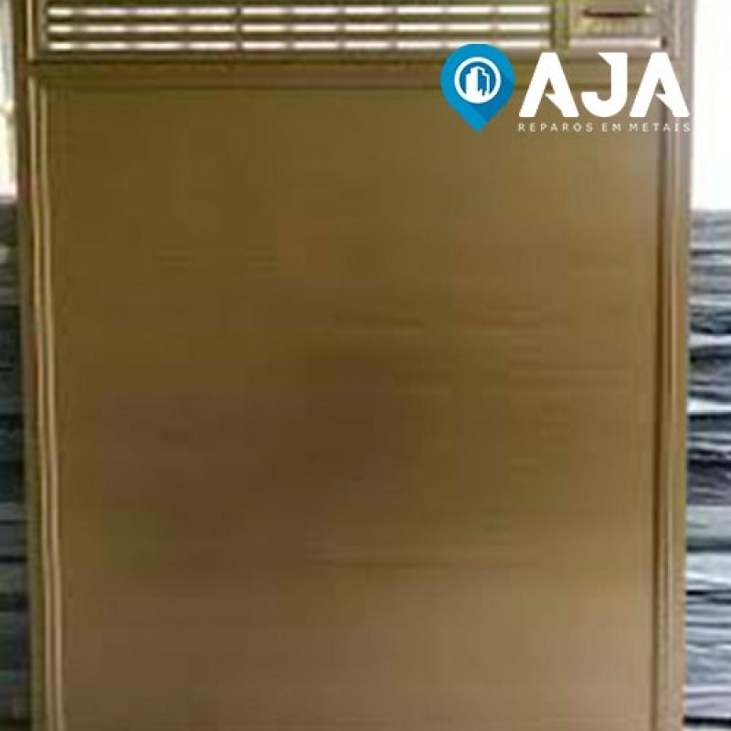 Pintura Amadeirada em Alumínio Valor Araçatuba - Pintura em Alumínio Eletrostática