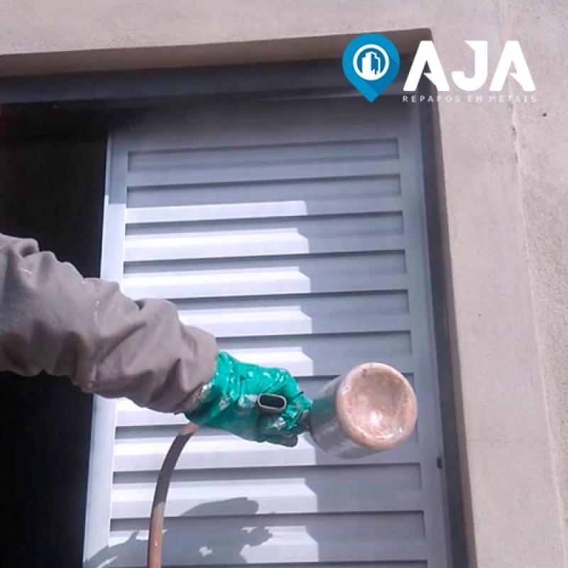 Pintura Amadeirada em Alumínio Nilópolis - Pintura em Alumínio Eletrostática