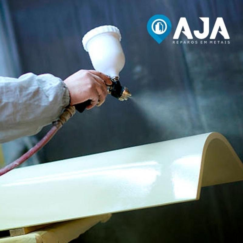 Pintura em Alumínio Eletrostática Valor Perdizes - Pintura em Alumínio Eletrostática