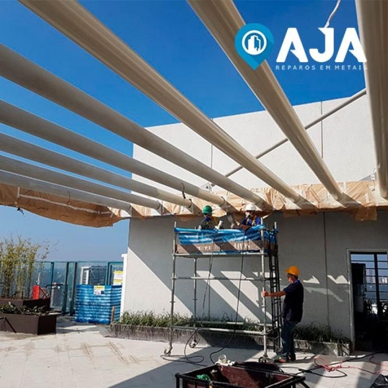 Pintura Proteção Estrutura Metálica Valor Vargem Grande - Pintura Intumescente Estrutura Metálica