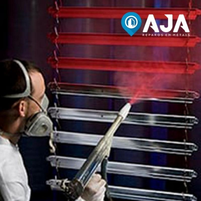 Quanto Custa Pintura Amadeirada em Alumínio Presidente Prudente - Pintura em Alumínio Eletrostática