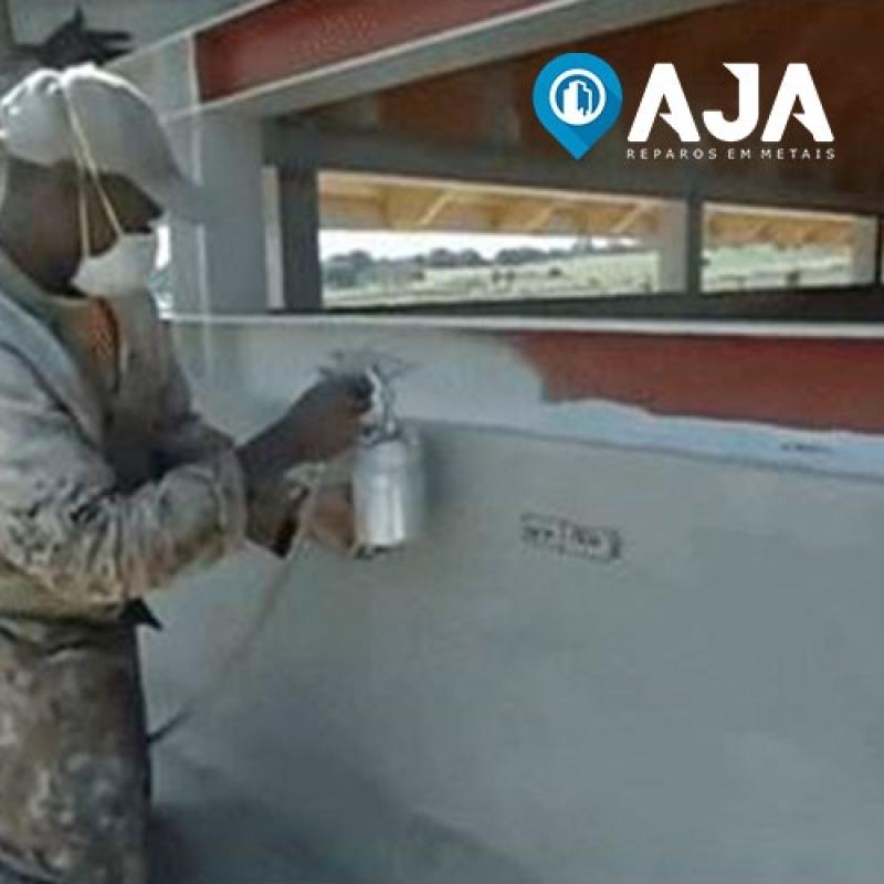 Quanto Custa Pintura Color Alumínio Alto Brilho ABC - Pintura em Alumínio Eletrostática