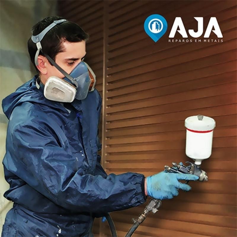 Quanto Custa Pintura em Alumínio com Spray Brooklin - Pintura em Alumínio Eletrostática