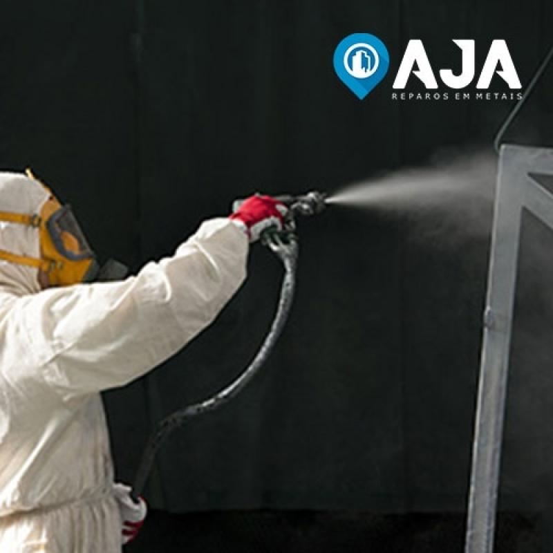 Quanto Custa Pintura em Janela de Alumínio Vila Formosa - Pintura em Alumínio Eletrostática