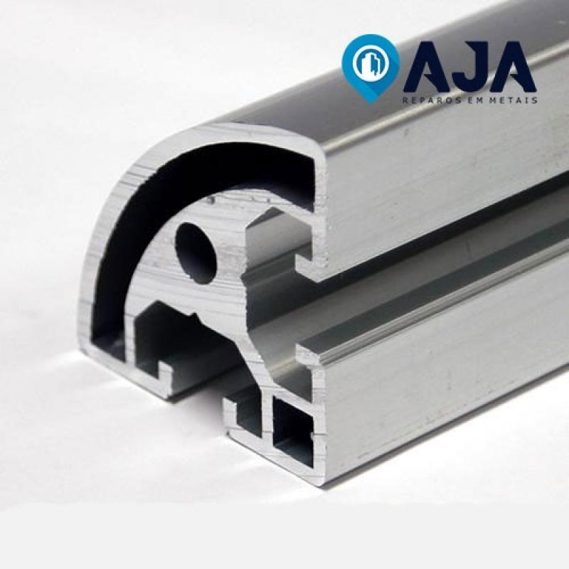Quanto é Reparo de Perfil de Alumínio de Canto Socorro - Reparo de Perfil de Alumínio Drywall