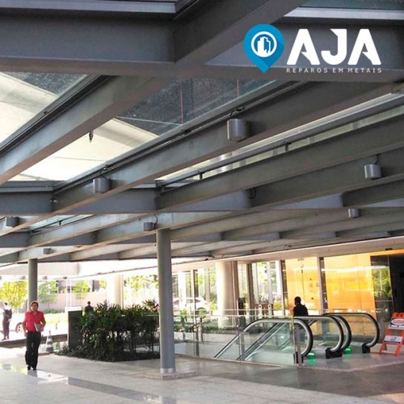 Quanto é Reparo de Perfil de Alumínio para Cobertura de Vidro Jardim Botânico - Reparo de Perfil de Alumínio Drywall