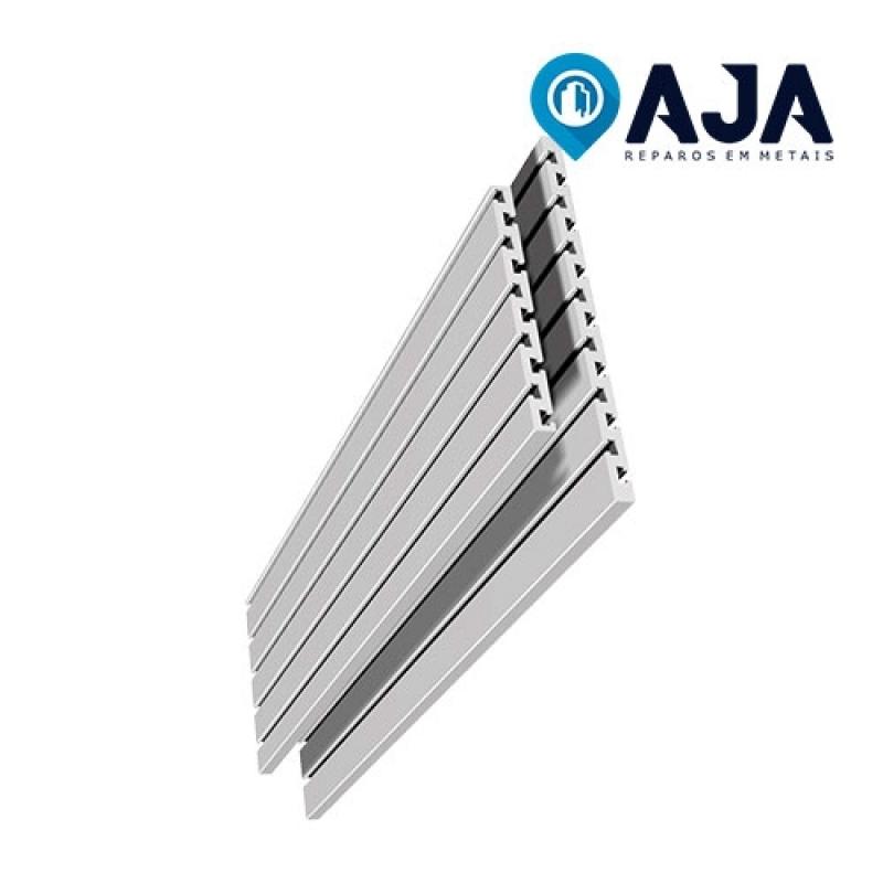 Reparo de Perfil de Alumínio Alternativa Sacomã - Reparo de Perfil de Alumínio Drywall