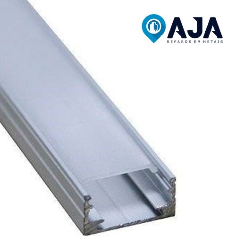 Reparo de Perfil de Alumínio de 20x20 Orçamento Americana - Reparo de Perfil de Alumínio de 20x20