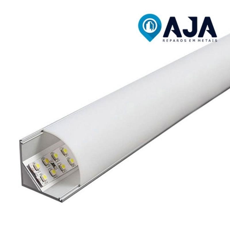 Reparo de Perfil de Alumínio de Led ARUJÁ - Reparo de Perfil de Alumínio Duplo