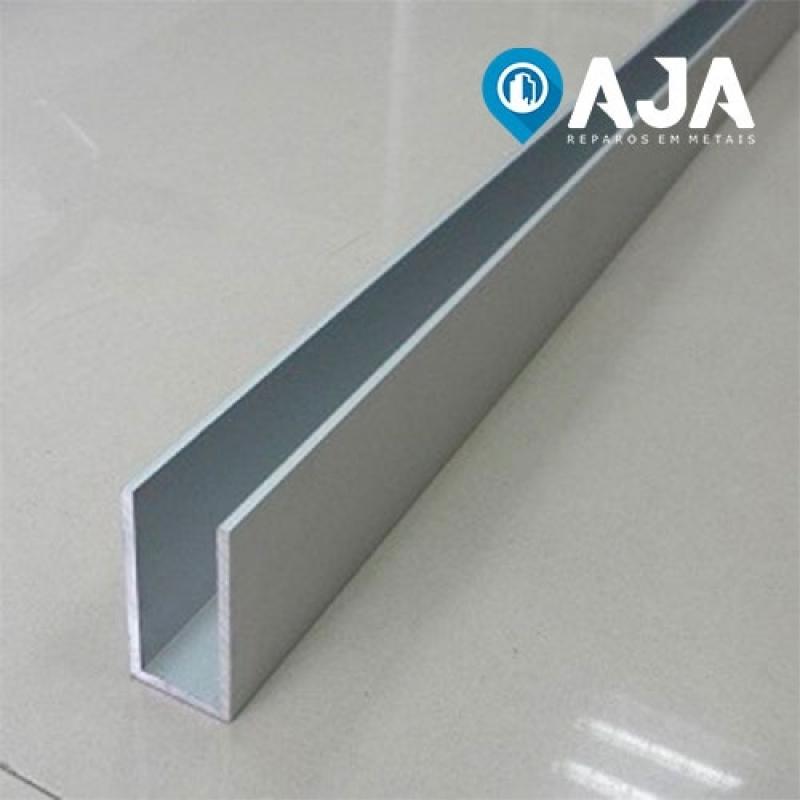 Reparo de Perfil de Alumínio Estrutural 40x40 Orçamento Jardim Paulista - Reparo de Perfil de Alumínio Drywall