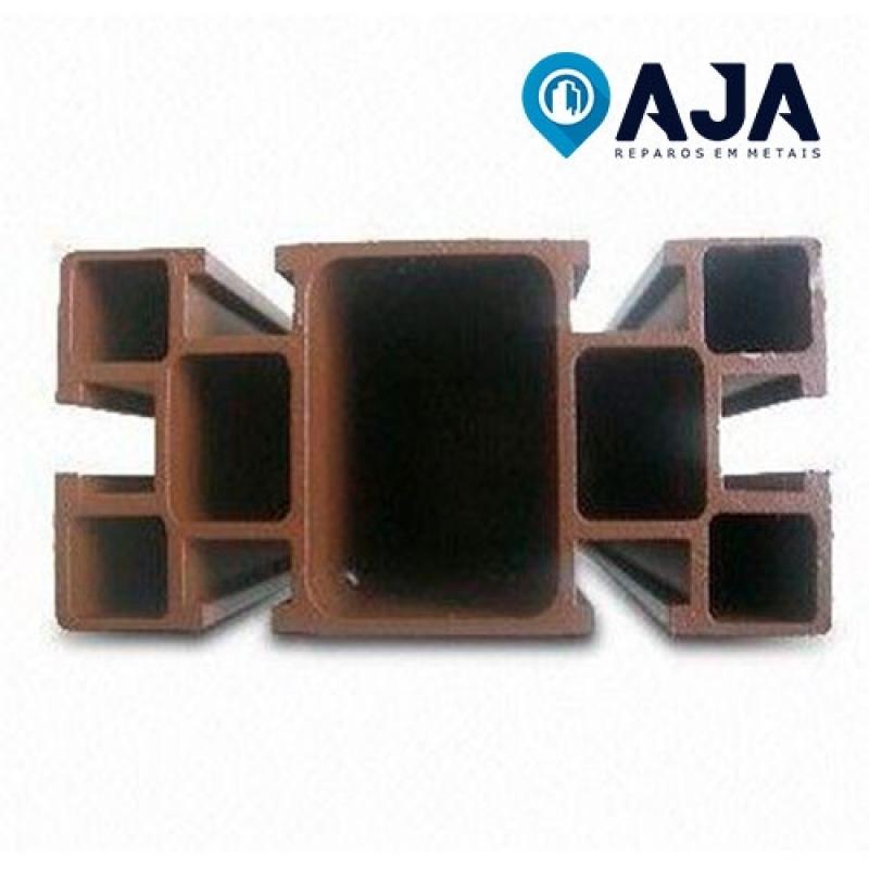 Reparo de Perfil de Alumínio Estrutural 40x40 Valor José Bonifácio - Reparo de Perfil de Alumínio Drywall