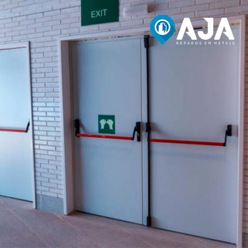Reparo de Porta Corta Fogo Industrial Preço Pirituba - Reparo de Porta Corta Fogo e Acústica