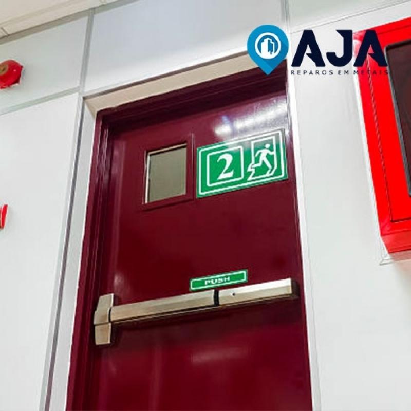 Reparo de Porta Corta Fogo Industrial Biritiba Mirim - Reparo de Porta Corta Fogo Industrial