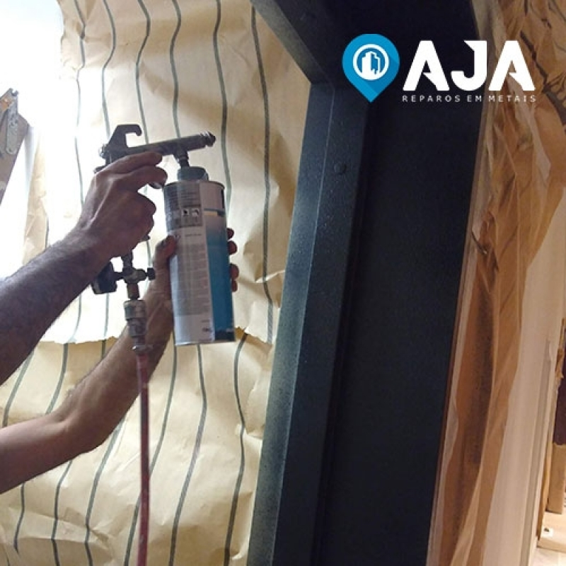Solução em Pintura Metálica Acrílica Valor Bragança Paulista - Solução em Pintura Metálica Anticorrosiva