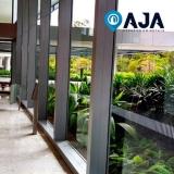 conserto de perfil de alumínio para cobertura de vidro orçar Vila Carrão