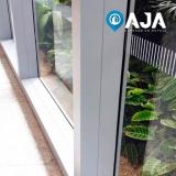 conserto de perfil de alumínio para cobertura de vidro valor Centro