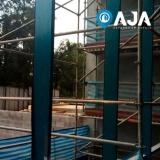 conserto de perfil de alumínio estrutural 40x40