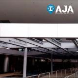 conserto de perfil de alumínio estrutural