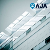 manutenção de acm de alumínio