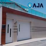 manutenção em portão de alumínio