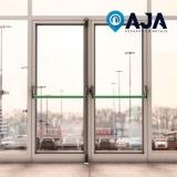 manutenção porta alumínio