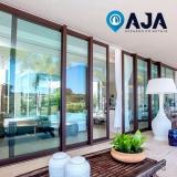 manutenção de portas de alumínio Marília