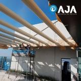 pintura para estrutura metálica edifício valor Jaboticabal