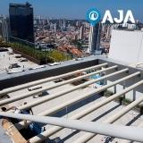 pintura para estrutura metálica em hospital São Conrado
