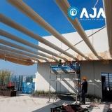 pintura proteção estrutura metálica valor ARUJÁ