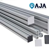 quanto é reparo de perfil de alumínio duplo Lapa
