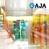 reparo de perfil de alumínio para cobertura de vidro Copacabana
