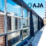 reparo de perfil de alumínio porta de vidro orçamento Vila Carrão