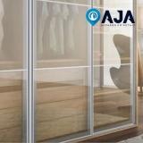 reparo de perfil de alumínio porta de vidro Cidade Jardim