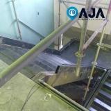 solução em pintura metálica em vidro valor Santa Isabel